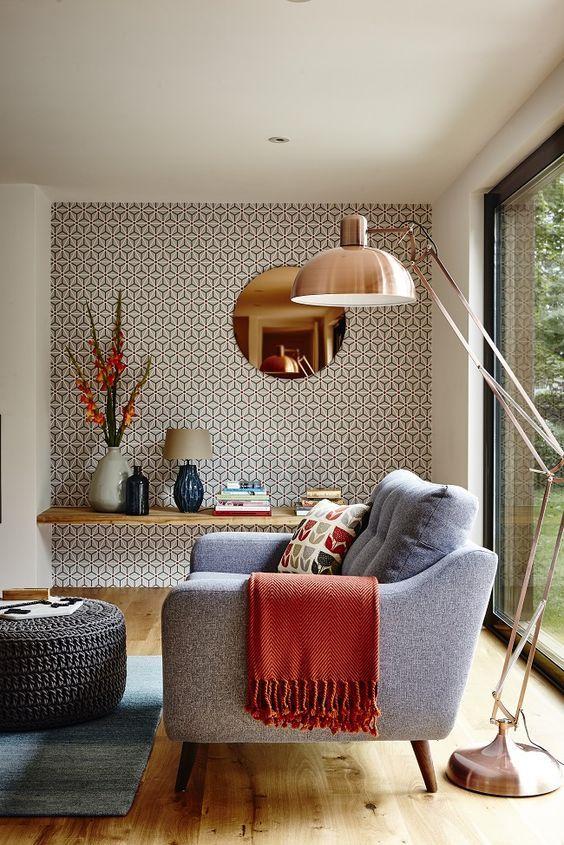 la carta da parati è uno degli ultimi trend di interior design, un elemento che con facilità trasforma piacevolmente gli. Come Usare La Carta Da Parati In Modo Creativo Interiorbe