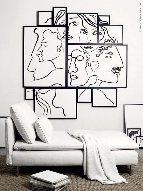 quadri di grandi dimensioni rendono la. Un Quadro Per Stupire Interior Break