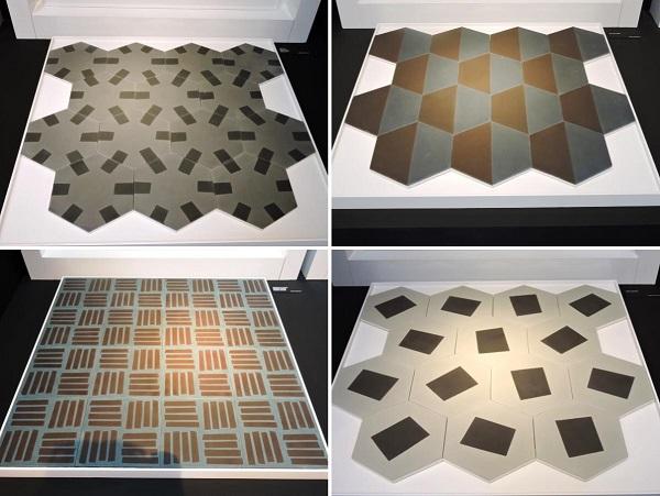 Contemporary cement tiles di Bisazza