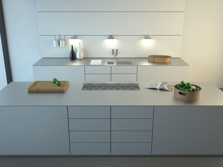 Bright Modern Kitchens Ideas PICTURES