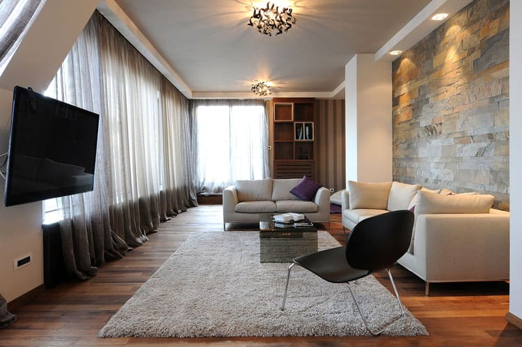 modern elegant living room designs 2 couch ideas 28 pictures this is breathtaking the simple furnishings allow embellished pendant lights to shine and mounting of flat screen television proves