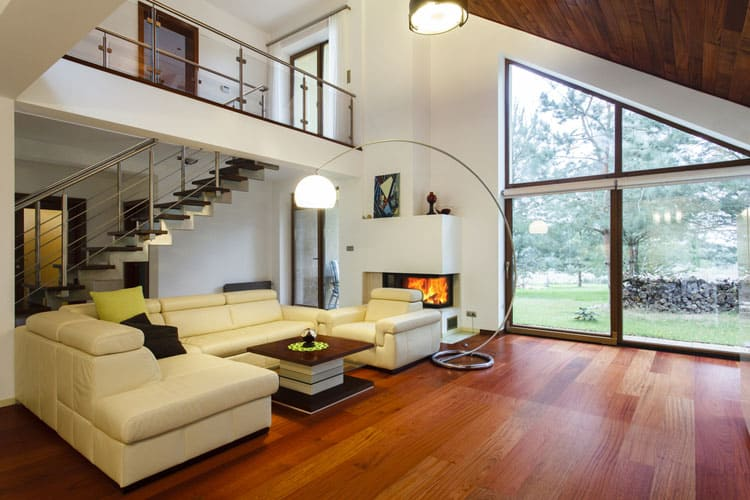modern elegant living room designs design ideas uk 28 pictures the stairway leading to entresol is a masterpiece and allows for those on second flooor truly appreciate s sloped