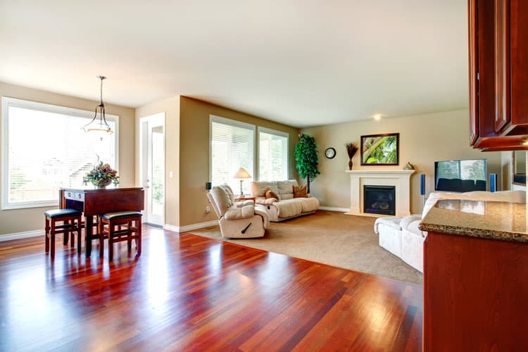 living room decor with hardwood floors cartoon pic of 30 rooms pictures open concept can be a challenge to furnish and decorate but this space does it beautifully the homeowners used gleaming for