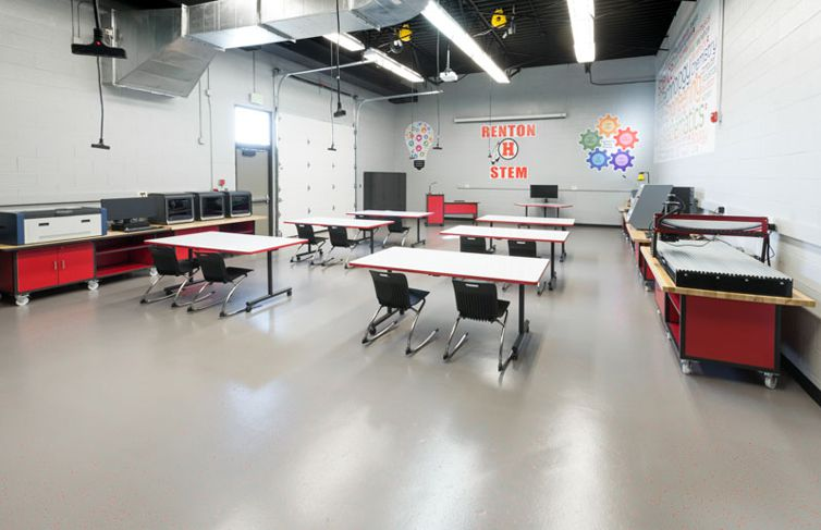 STEM Lab  Technology Furniture that is Designed to Fit