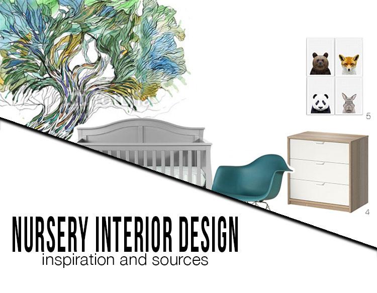 nursery interior design inspiration and sources