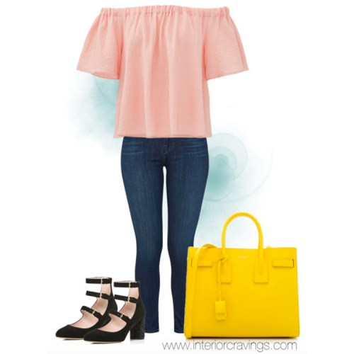 NYFW 2016 trend off the shoulder outfit inspiration
