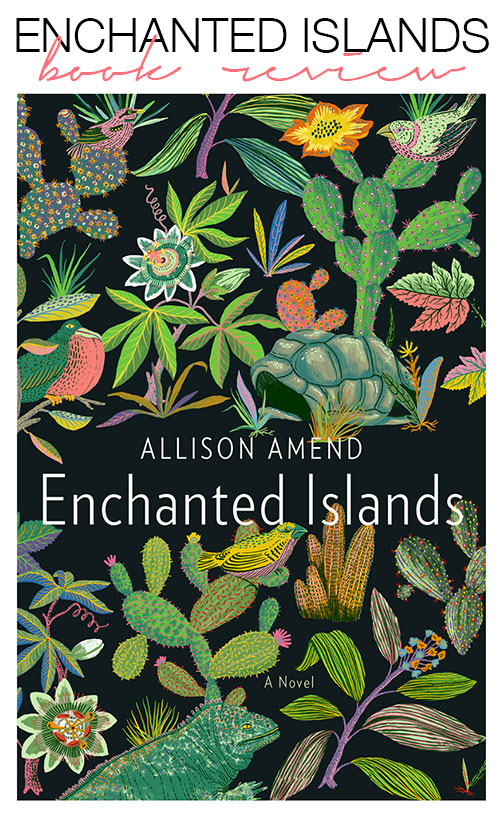 enchanted islands by allison amend - book review