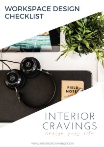 interior cravings workspace and home office design checklist