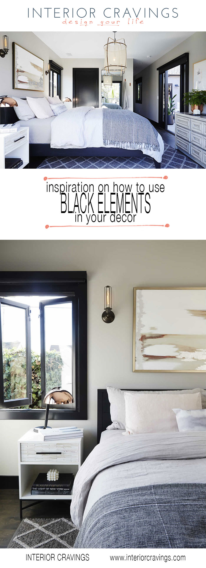 INSPIRATION ON HOW TO USE BLACK ELEMENTS IN YOUR DECOR ...