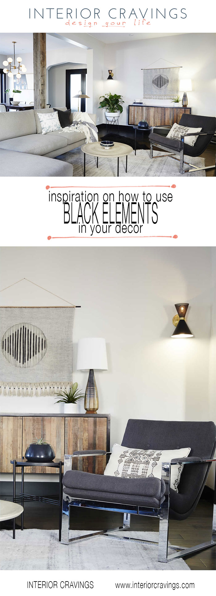 interior cravings how to use black elements in your decor living room showcase