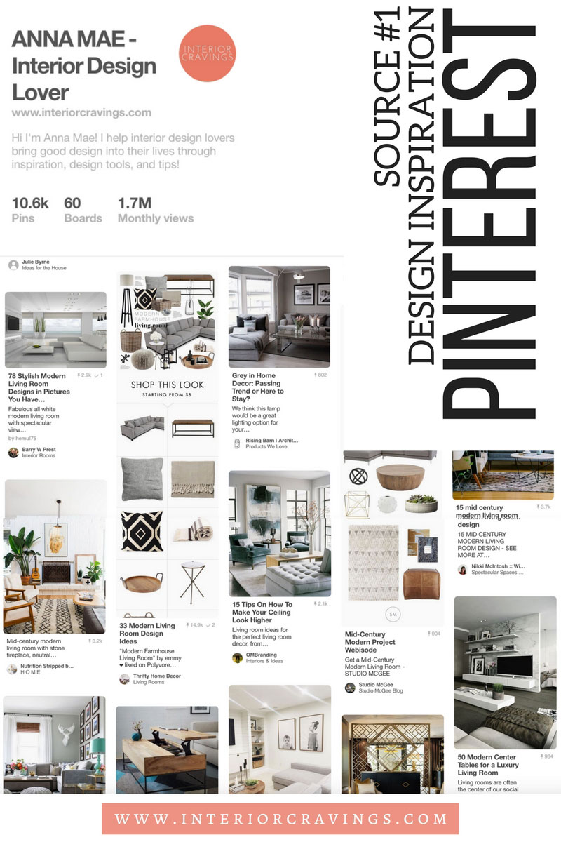 INTERIOR CRAVINGS search for design inspiration pinterest