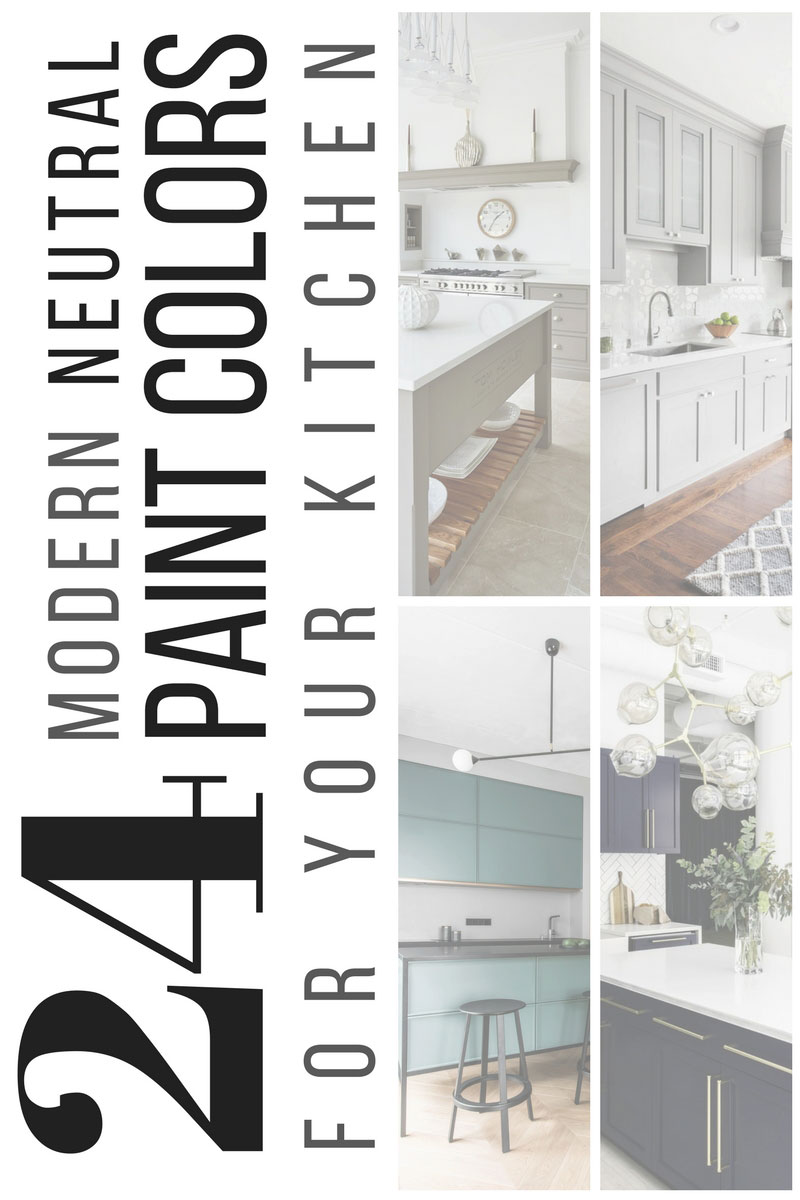 24 Modern Neutral Paint Colors For Your Kitchen Remodel Interior Cravings Home Decor