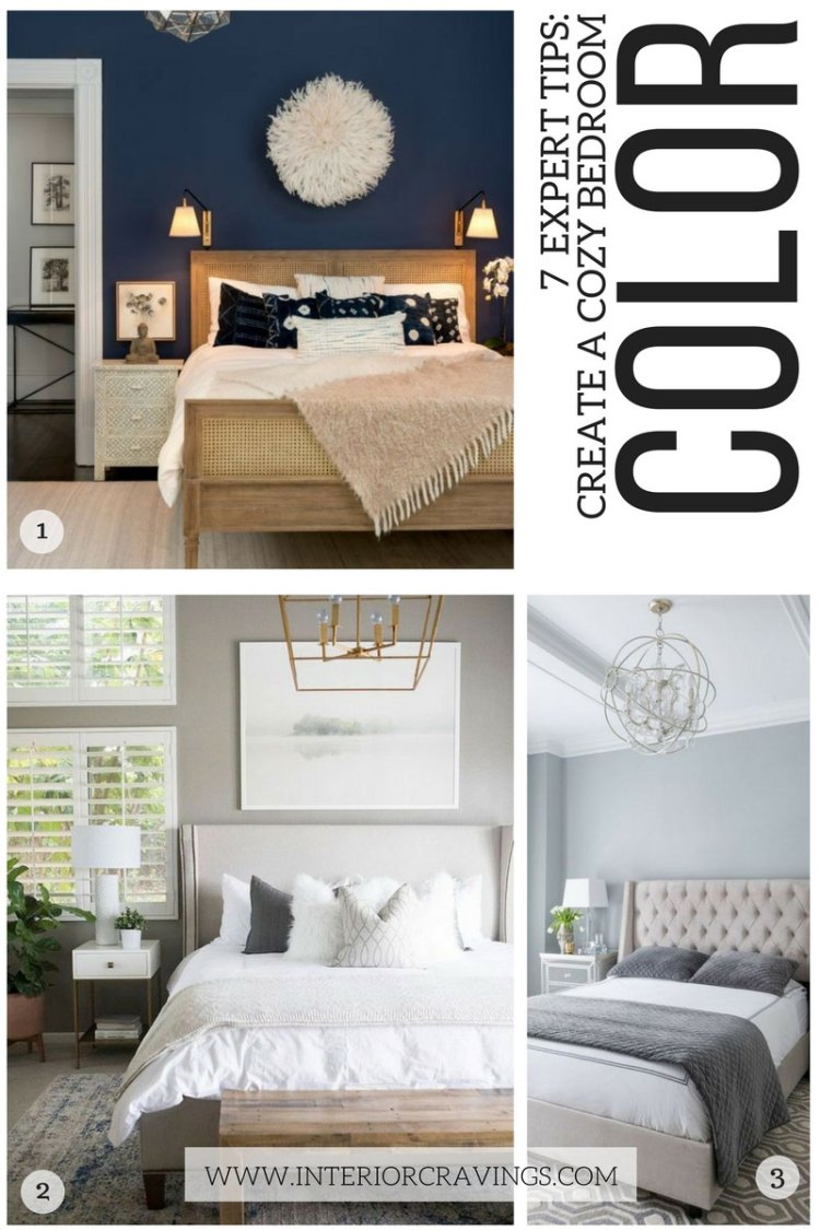 7 expert tips to help you create a cozy master bedroom - tip 2 choose the right color scheme