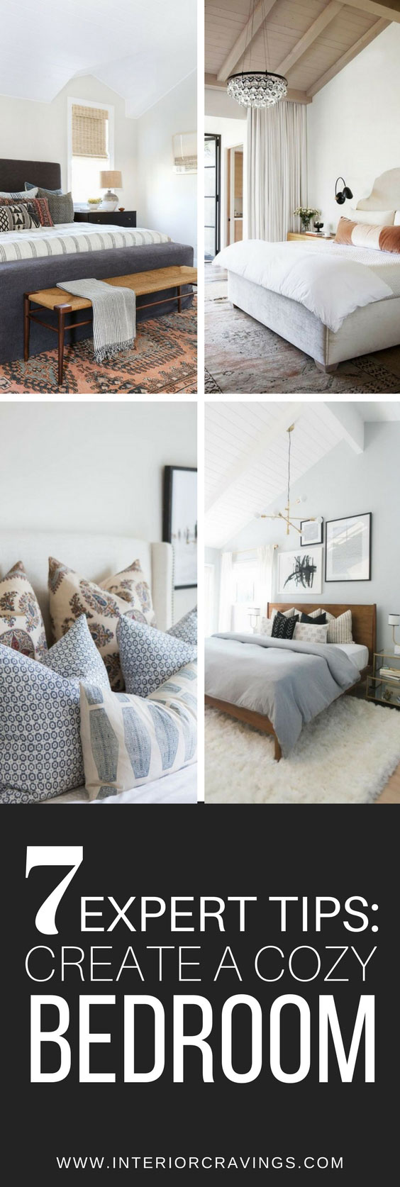 7 expert tips to create a cozy bedroom