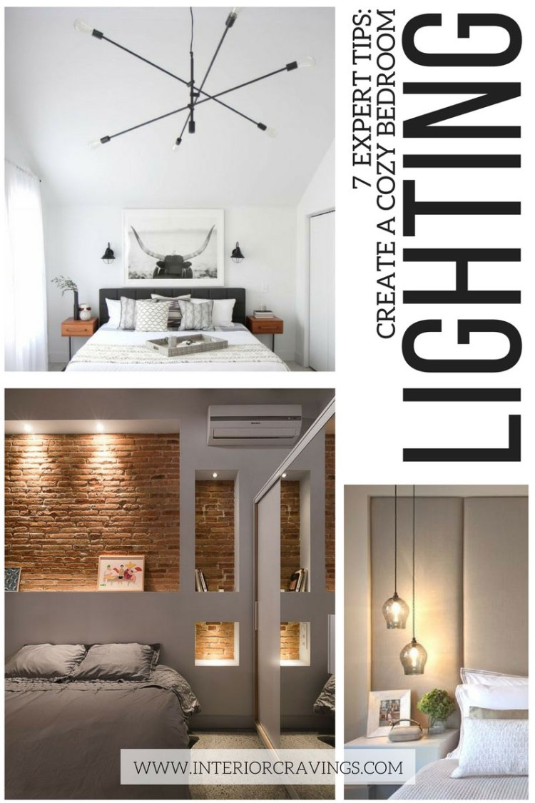 7 expert tips to help you create a cozy master bedroom - tip 3 create mood through lighting
