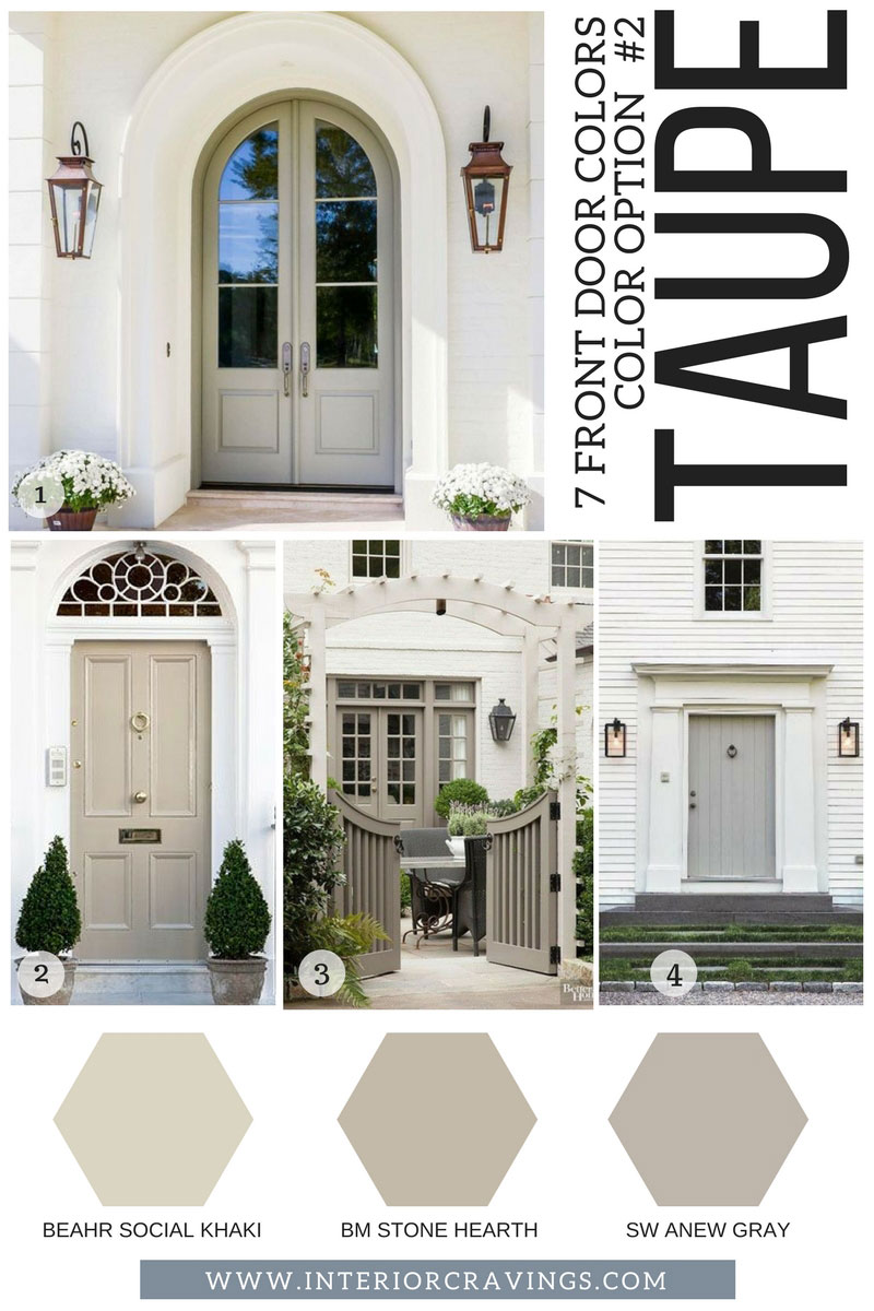 10 Inspiring Interior Doors: 7 FRONT DOOR COLORS TO MAKE YOUR HOME STAND OUT