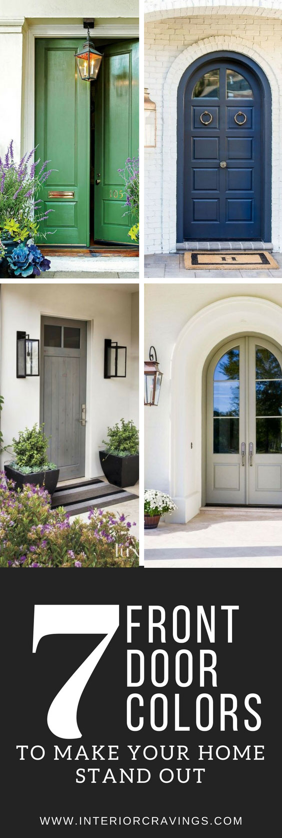 7 FRONT DOOR COLORS To Make Your Home Stand Out And Add Character To Your  House