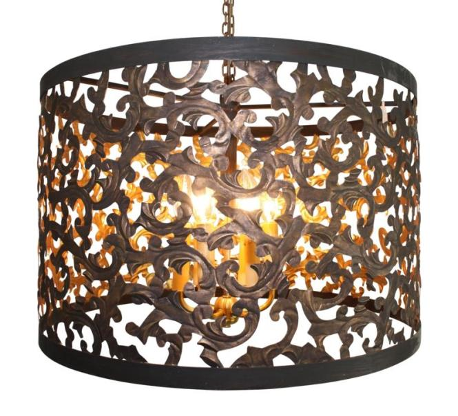 Dr Livingstone Dark Gold Cut Out Acanthus Leaf Six Light Chandelier Search Results