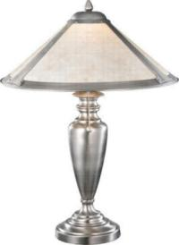 Silver Mica Table Lamp Meyda Tiffany - InteriorDecorating
