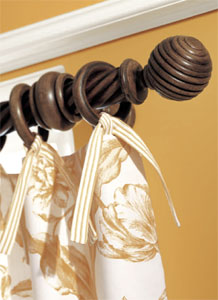 Wood Curtain Rods