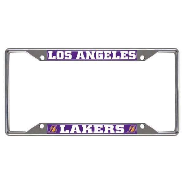 Nba Los Angeles Lakers License Plate Frame 6.25x12.25