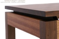 Walnut and Mahogany Desk and Dining Table | Solid Hardwood ...