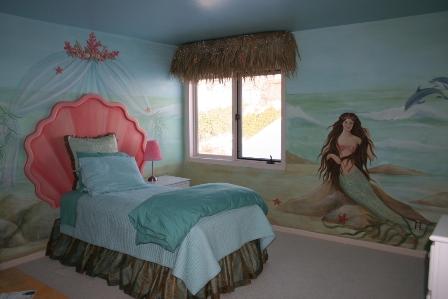 Mermaid Theme Dcor for Kids  Interior Designing Ideas