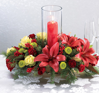 Lovely Christmas Centerpieces Interior Designing Ideas