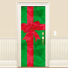 Door Decorations Contest Christmas Wrapping Paper