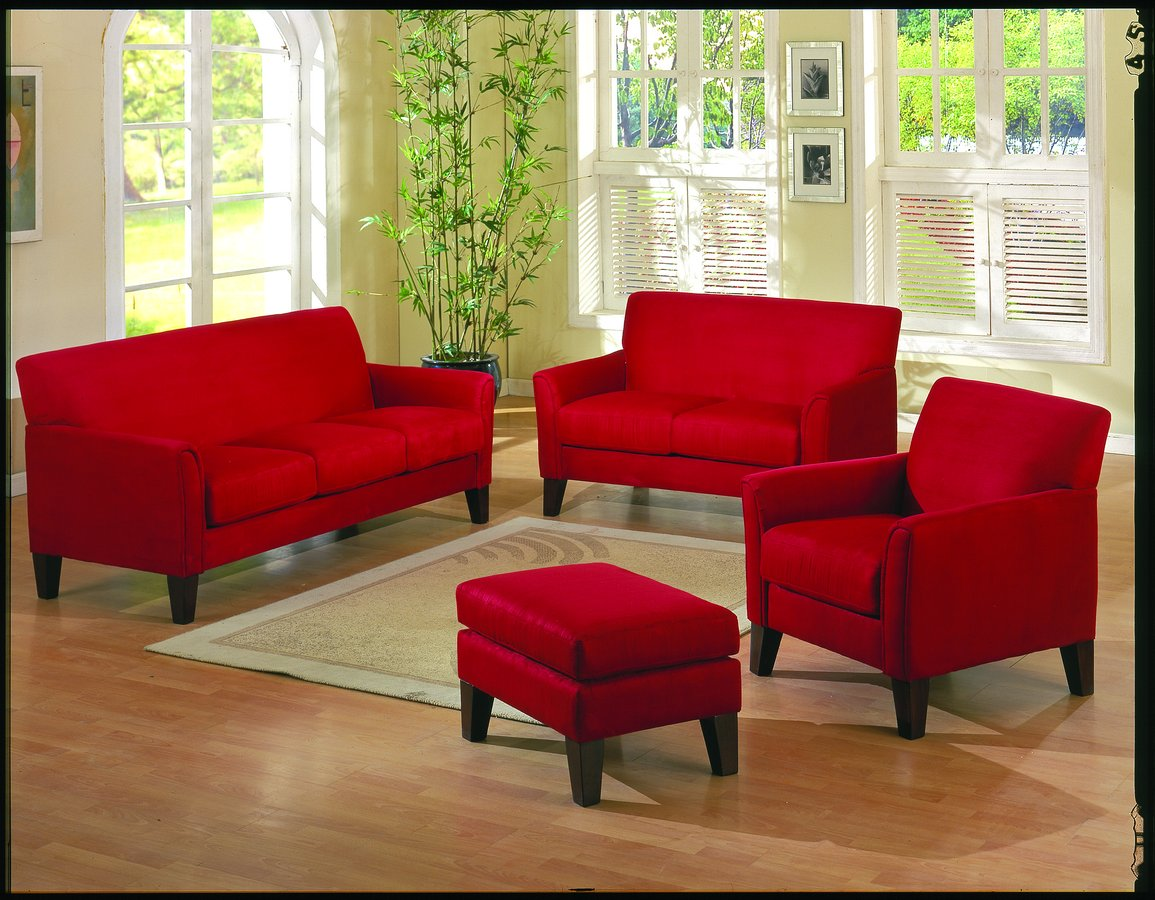 living room color with red sofa best company uk décor ideas for outdoor interior