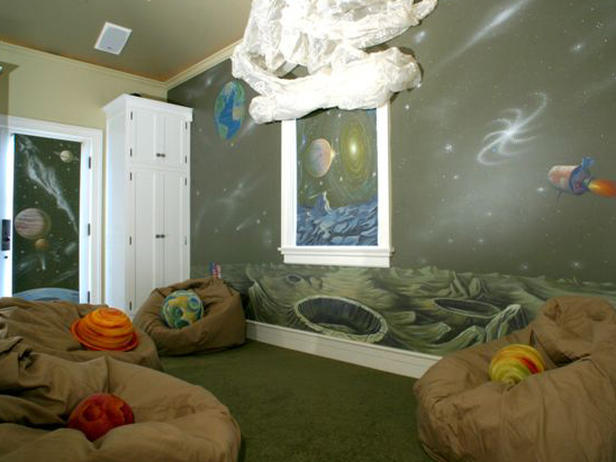 Outer Space Themed Bedroom The New Way Of Life Interior Designing Ideas