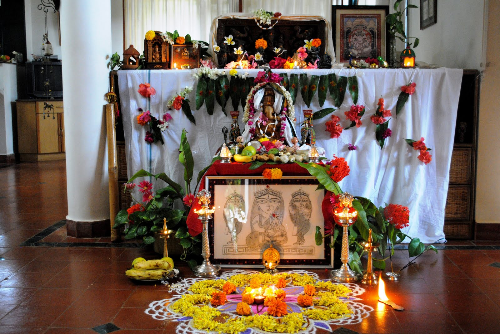 How To Welcome Ganpati Once Again? – Interior Designing Ideas