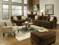 How to decorate a brown sofa