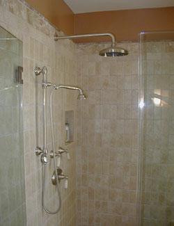 Rainhead Shower for Remodeled Bath