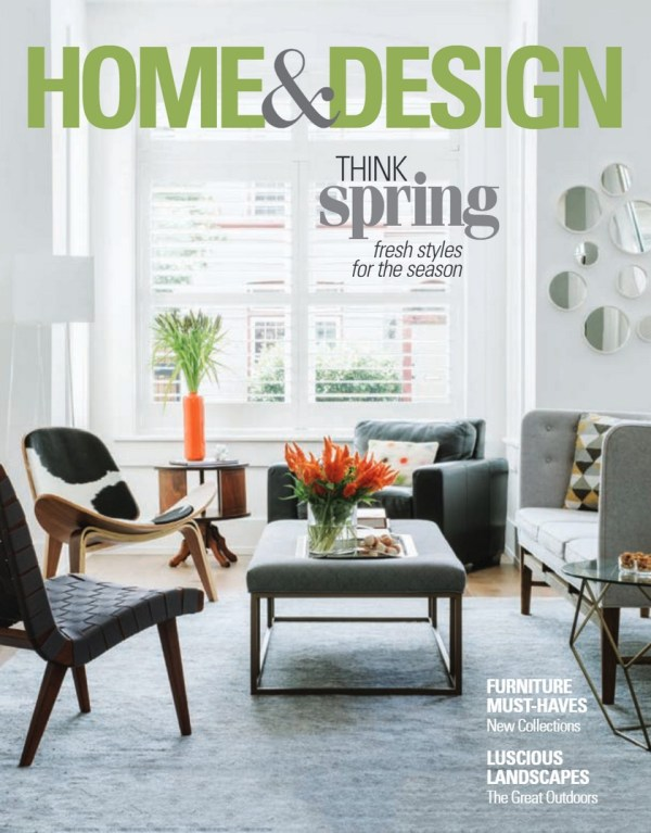 Spring With Home And Design Magazine Interior