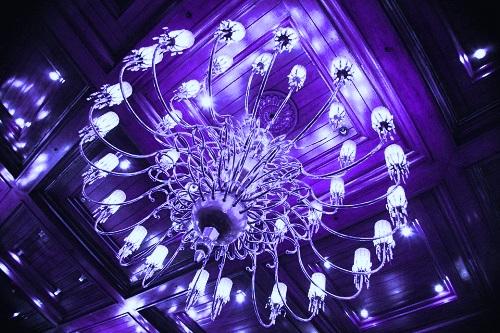 beautiful-blue-chandelier