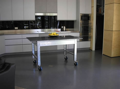 best kitchen flooring material options: the pros and cons