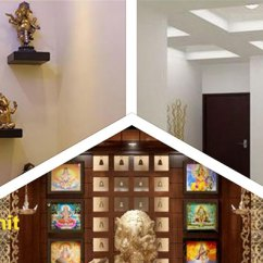 False Ceiling Designs For Small Living Room Z Gallerie Prayer Unit / Pooja Designers In Bangalore