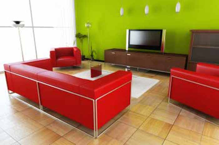 lime green and red living room ideas 2018 india modern colors interiordezine com bright color
