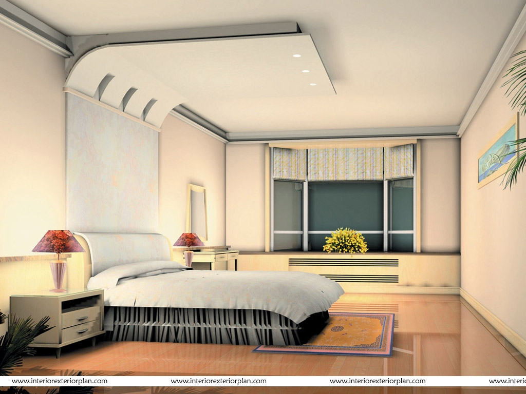 Interior Exterior Plan  A well worked out bedroom