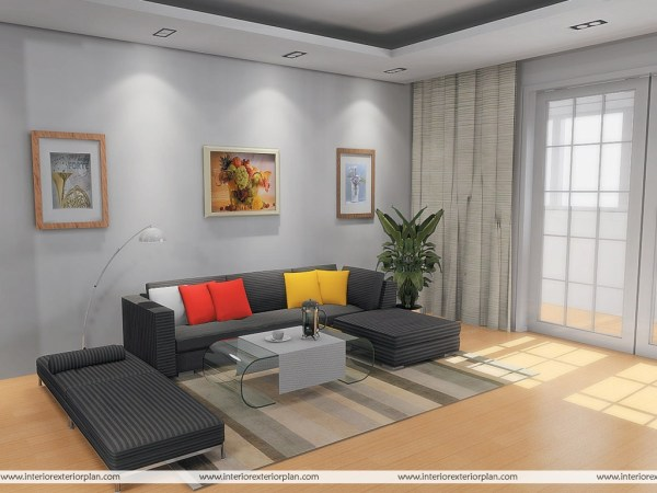 interior design living room decor Interior Exterior Plan   Simple and uncluttered living