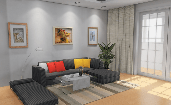 Interior Exterior Plan Simple And Uncluttered Living