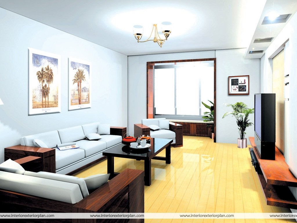Interior Exterior Plan  Living room design with an opulent charm