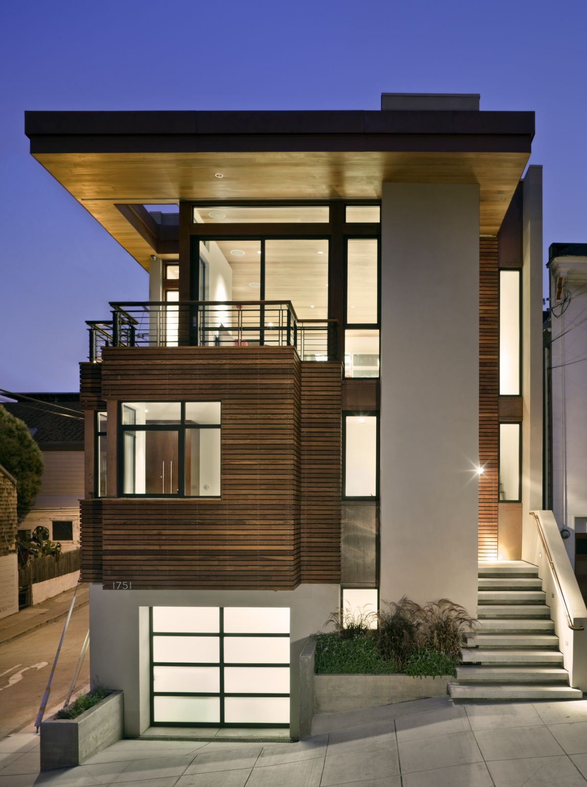 Interior Exterior Plan  Classy and modern exterior theme for large spaces