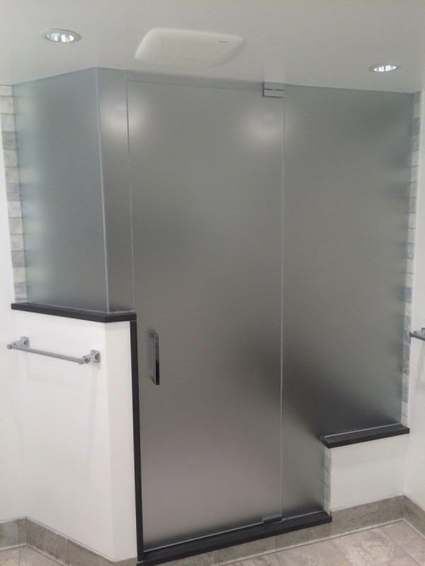Privacy Glass Interior Design - Custom Frameless