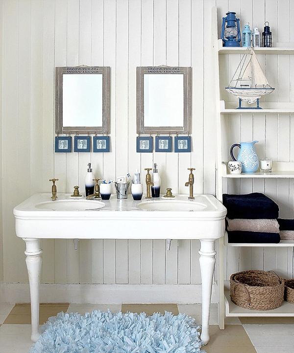 Coastal Bathroom Design Ideas  InteriorHoliccom