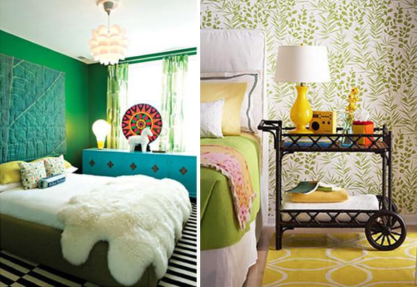 colorful bedroom designs Colorful Bedroom Designs | InteriorHolic.com