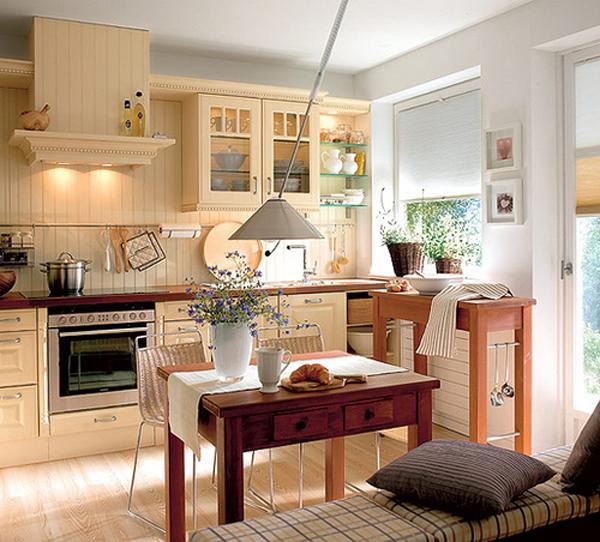 warm kitchen design Cozy And Warm Kitchen Design Ideas | InteriorHolic.com