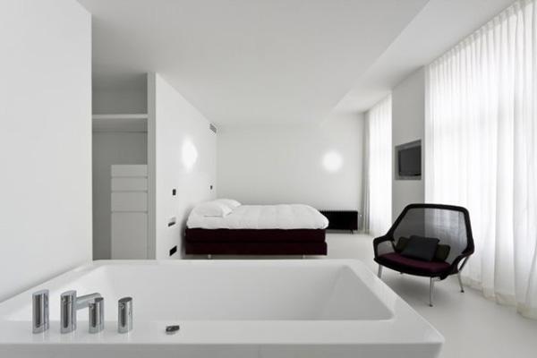 Design Trend Bathtub In Bedroom