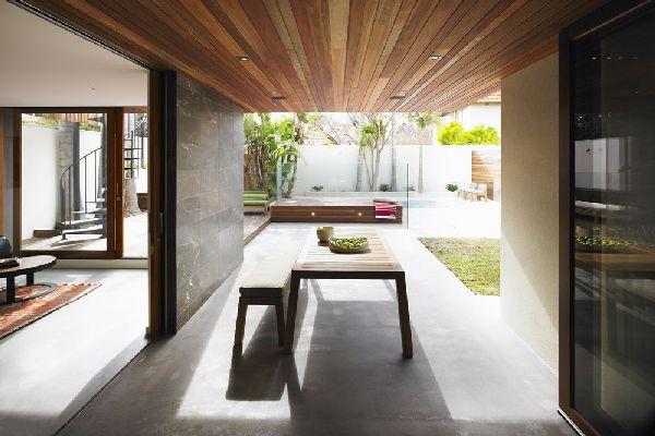 Integrated Indoor And Outdoor Spaces  InteriorHoliccom
